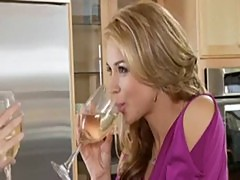Andy San Dimas and Sarah Vandella make love
