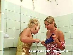 Shower fight
