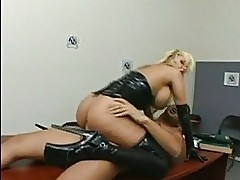 Busty slut Shyla Stylez gets her tight ass nailed and takes ...