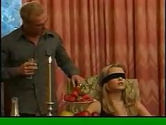 Gorgeous Sophie Moone blindfold seduction