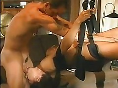 Horny babe Tera Patrick sucks and gets fucked hard