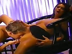 Hot babe Tera Patrick gets her wet slit licked and blows a m...
