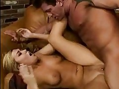 Tiffany Rayne takes it balls deep down throat and up her twa...