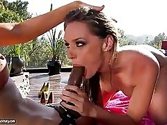 Sexy bootyTori Black slams her bitchy hole on a toy cock enj...