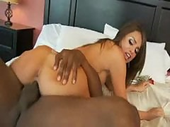 Tori Black looks glamorous and slutty on his cock