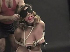 Mom clamped and Abused