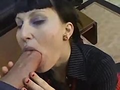 Goth Punk Girl Gets Banged My Huge Cock