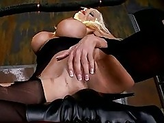 Desirable whore Puma Swede tries her fingers wild in her fuc...