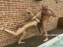 Bondage sluts hard drilled