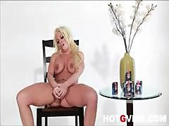 Brittney Amber Is A Blonde Babe Who Is A Master At Masturbation