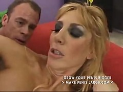 Hot and sexy blonde mom straight and anal part2