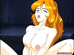 Bondage hentai policewoman with bigboobs hard fucked by bandit