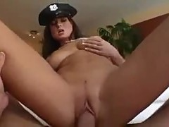 Lady cop in boots fucked by you