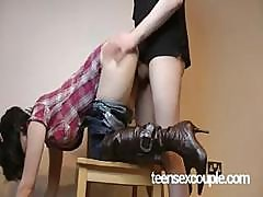 100% Real Girlfriend's Cowgirl Creampie