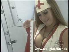Aria duble penetrated as nurse