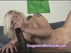 Lucky big black cock fucks big stacked mature blonde Mandy