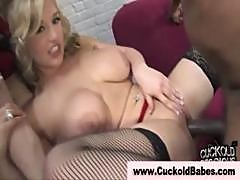 Stockings Blonde Fetish Hottie Gets Fucked