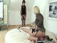 Dominas queening their sexslave