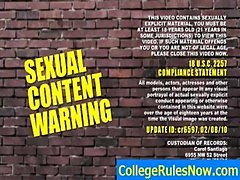 College Videos And Dorm SexTapes - CollegeRulesNow.com - clip 04