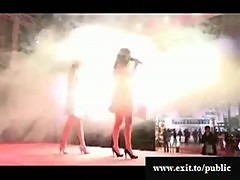 Sensational Porn Actions On Stage