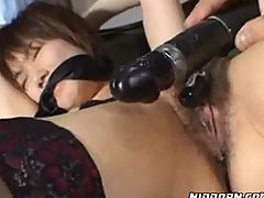 Asian Gets Tied Up