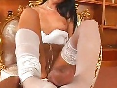 Coreena foot job and fuck