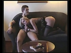 French blonde fuck by 2 guys RO7
