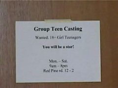 Katya at teen group casting
